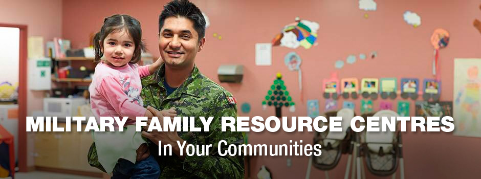 Slide - MILITARY FAMILY RESOURCES CENTRES / In Your Communities