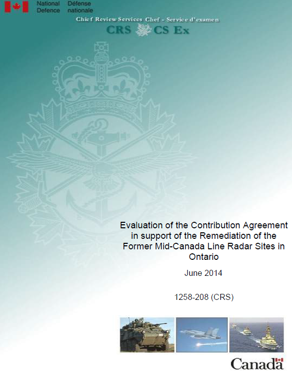 Evaluation Of The Contribution Agreement In Support Of The