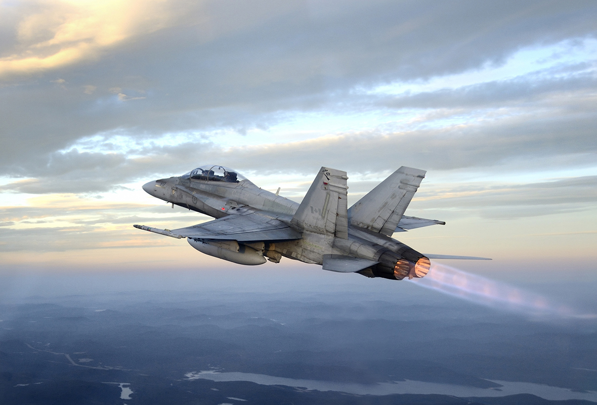 Magellan Aerospace Corporation is awarded a $45 million contact for the maintenance of F404 engines for Hornet aircraft