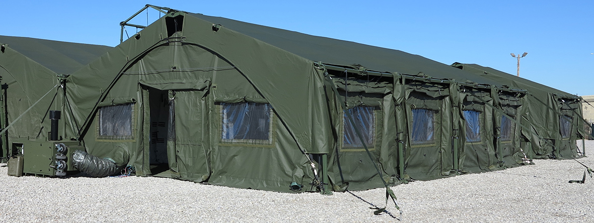 Weatherhaven Global Resources Ltd., is awarded two contracts worth $168 million for new tactical tent-based shelter systems