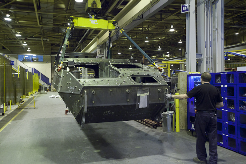 General Dynamics Land Systems – Canada will be awarded $404M to upgrade the chassis (hull) of 141 Light Armoured Vehicles (LAV)