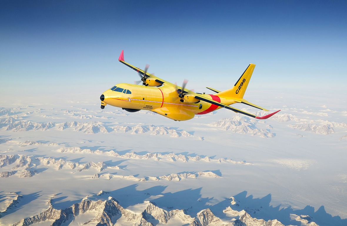 Work begins on the fixed-wing search and rescue aircraft