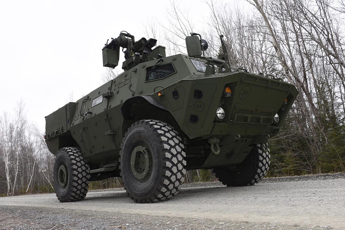 The first tactical armoured patrol vehicles are delivered