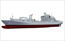 Artist rendering of the definition design for Joint Support Ships.