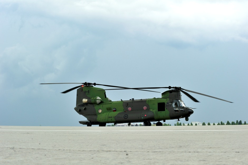 June 27, 2013 - The Government of Canada welcomed the delivery of the Canadian Armed Forces' first new CH-147F Chinook helicopter in Canada at a ceremony in Ottawa.