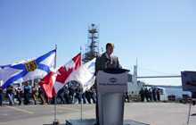 Statement by the Honourable Peter MacKay, Minister of National Defence, on the announcement of the National Shipbuilding Procurement Strategy Secretariat's Decision.