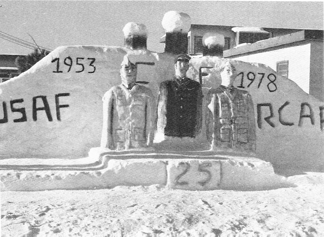Winter carnivals were a way to break the monotony of winter at the often-remote radar stations. Photo: Canadian Forces Museum of Aerospace Defence collection