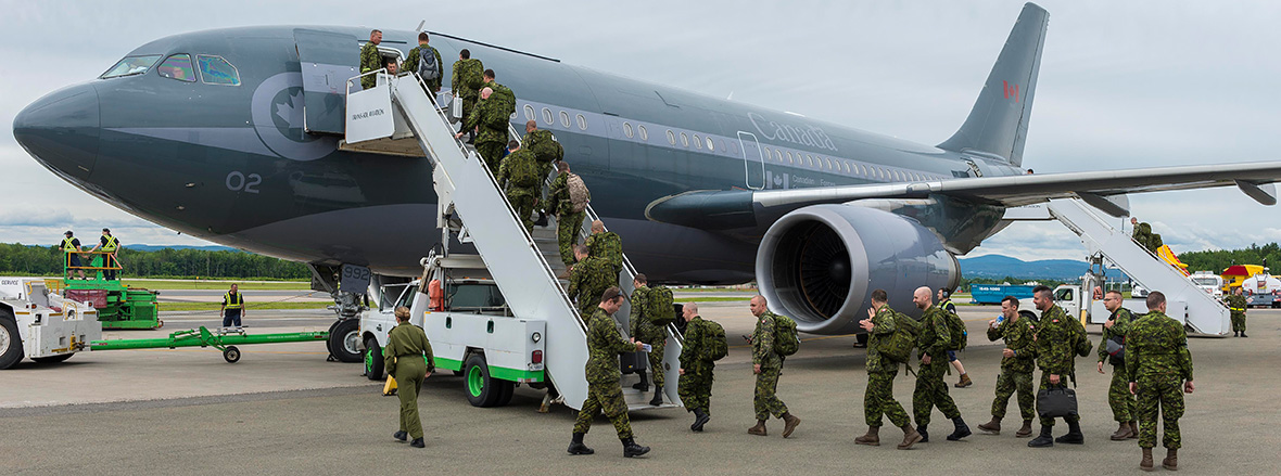 Canadian Army troops deploy to Poland for Operation REASSURANCE