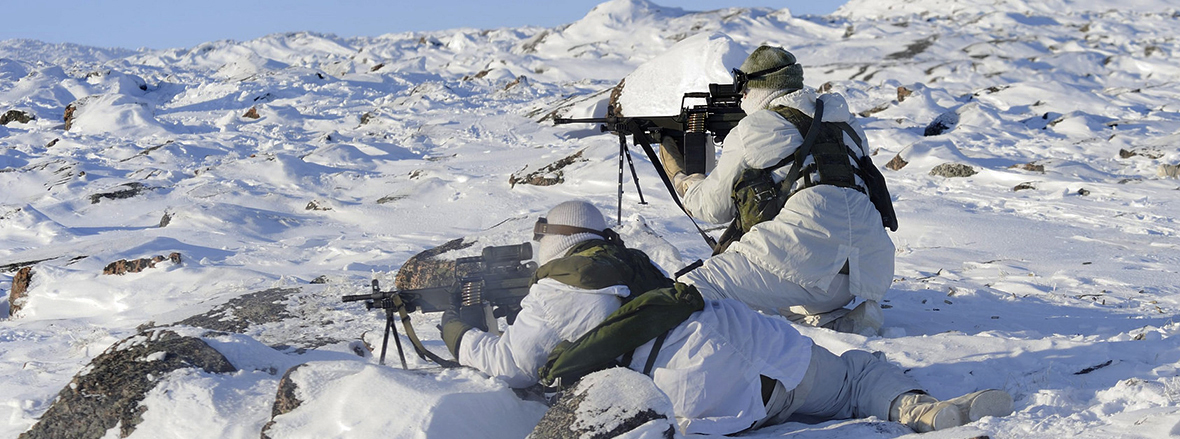 Slide - Arctic Readiness – Canadian Army trains in Canada's North