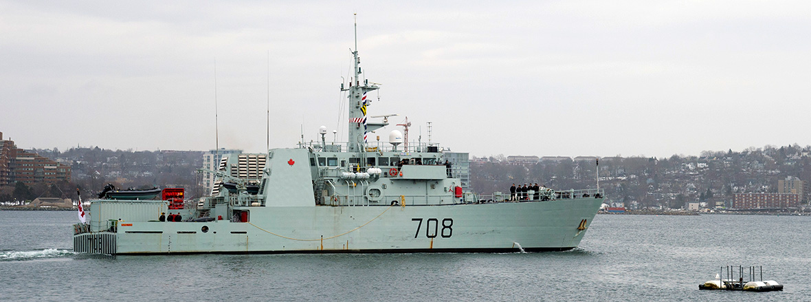 Slide - HMCS Moncton and Summerside depart Halifax today to participate on Operation CARIBBE 2016