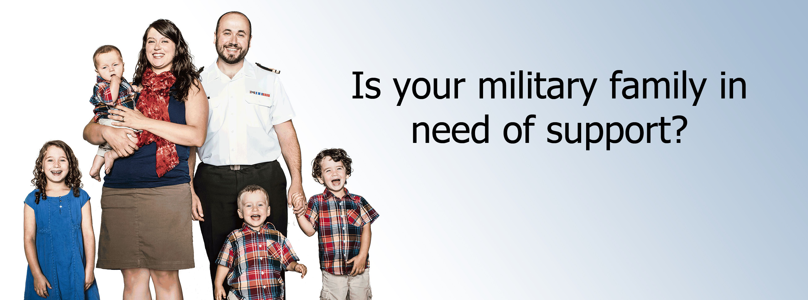 Is your military family in need of support?
