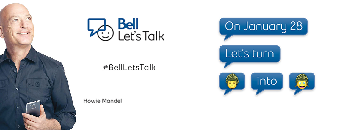 Government of Canada Supports Bell Let's Talk Day