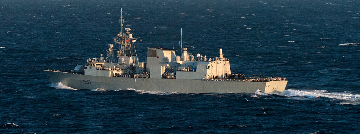 HMCS Fredericton Deploys to the Black Sea in Support of NATO-led Maritime Assurance Activities