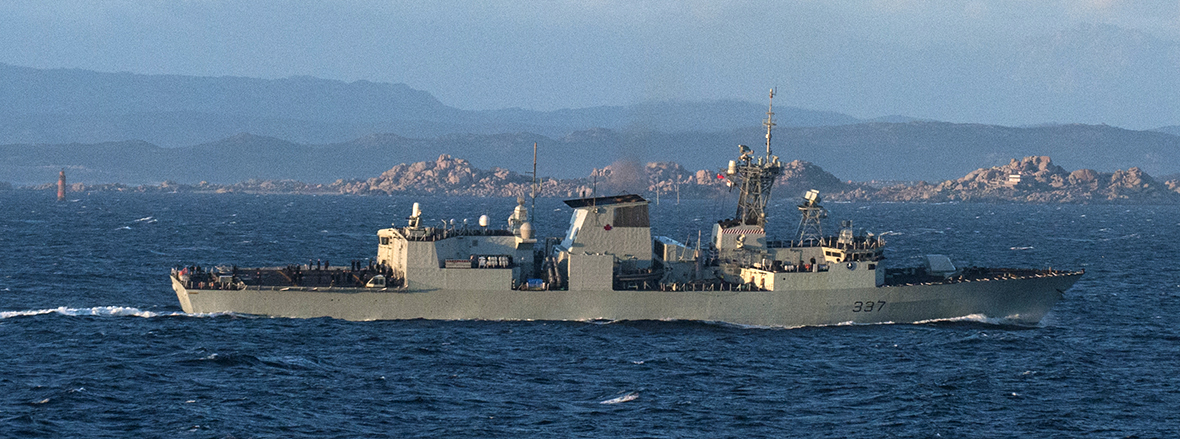 HMCS Fredericton Replaces HMCS Toronto in Support of NATO-led Maritime Assurance Measures