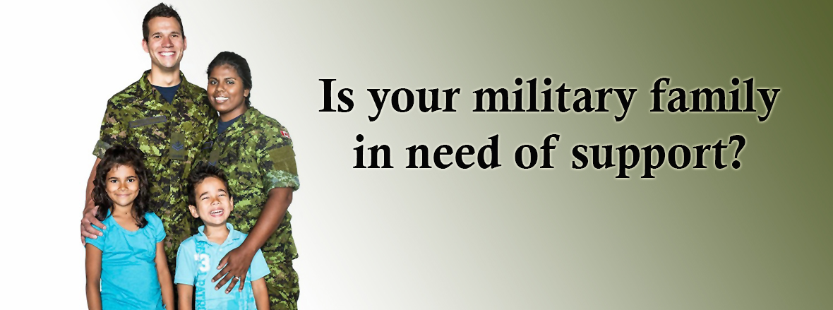Military Family Services Program - Strengthening Canadian Armed Forces families and communities