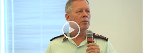 Slide - Leadership Talks: Inappropriate Sexual Behaviour (Video clips from the CDS Leadership Engagement on Operation HONOUR)