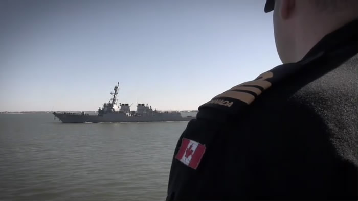 HMCS Fredericton Trials
