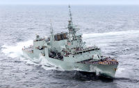 Government celebrates the modernization of Halifax-class frigates