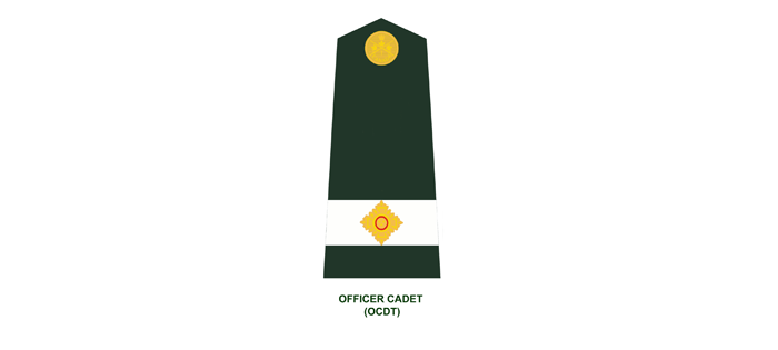 Officer Cadets: Officer Cadet