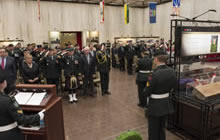 Charlottetown, Prince Edward Island. 9 October 2014 - The Afghanistan Memorial Vigil was open for public viewing at the Confederation Centre of the Arts from the 9-11 of October. (Photo by MCpl Rick Ayer, Formation Imaging Services © 2014 DND-MND Canada)