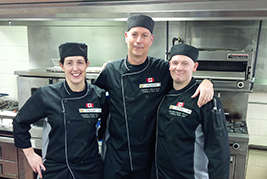 Culinary team wins silver at international competition