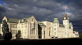 The Mackenzie Building, Royal Military College of Canada.