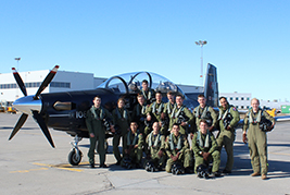 NATO Flying Training in Canada Program makes history