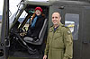Honorary Colonel Loreena McKennitt visits 430 Squadron in Valcartier