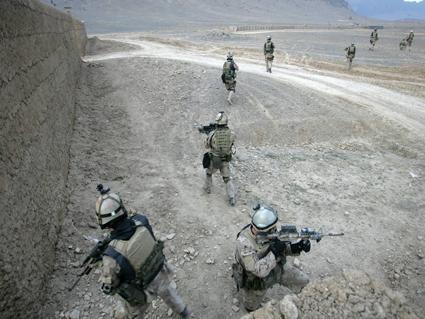 CSOR operators on patrol