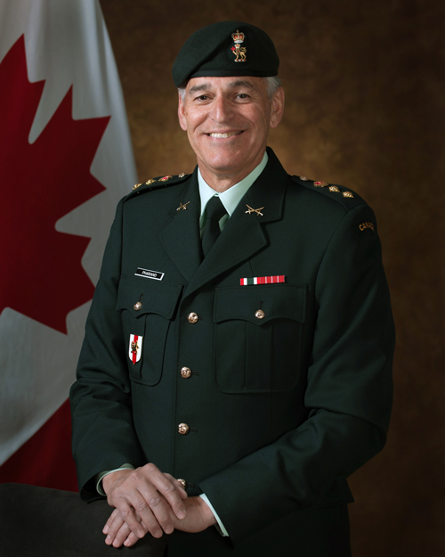 Honorary Colonel Pierre-Paul Pharand, CD