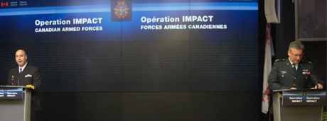 Slide - Operation IMPACT – Technical briefing | Feb. 12, 2015