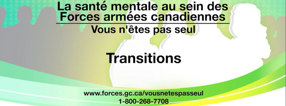 Diapositive - Transition au sein des Forces armées canadiennes