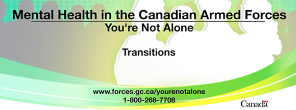 Slide - Transition in the Canadian Armed Forces