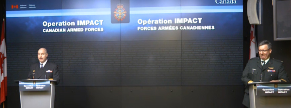 Slide - Operation IMPACT – Technical briefing | Jan. 26